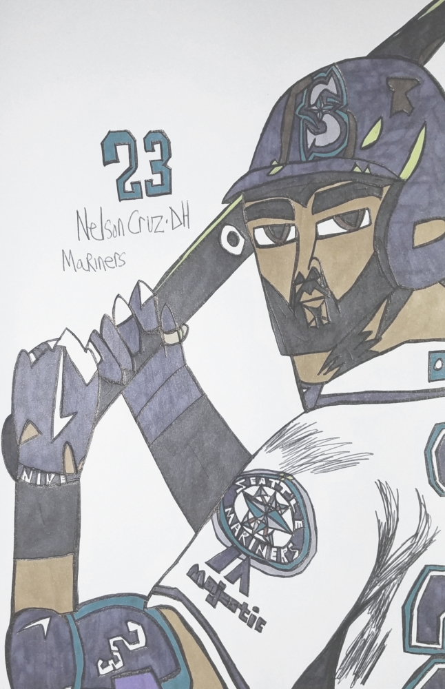 Nelson Cruz by armattock